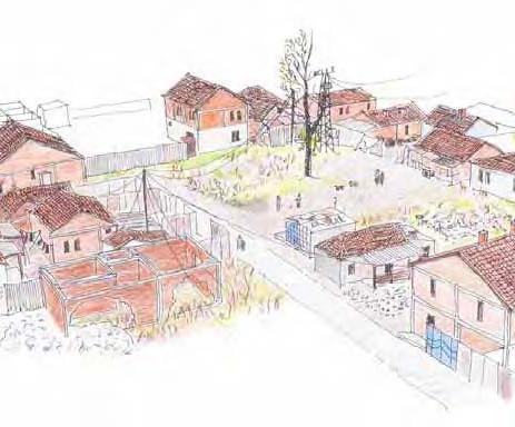 Sketch of Fushe Village