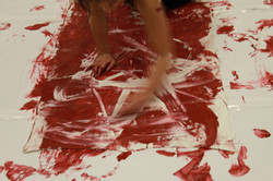 Painting with my body