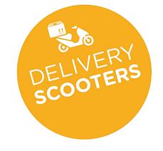 Scooter trasporto pizze sushi