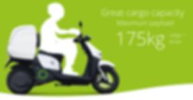scooter elettrico in affitto noleggio per trasporto