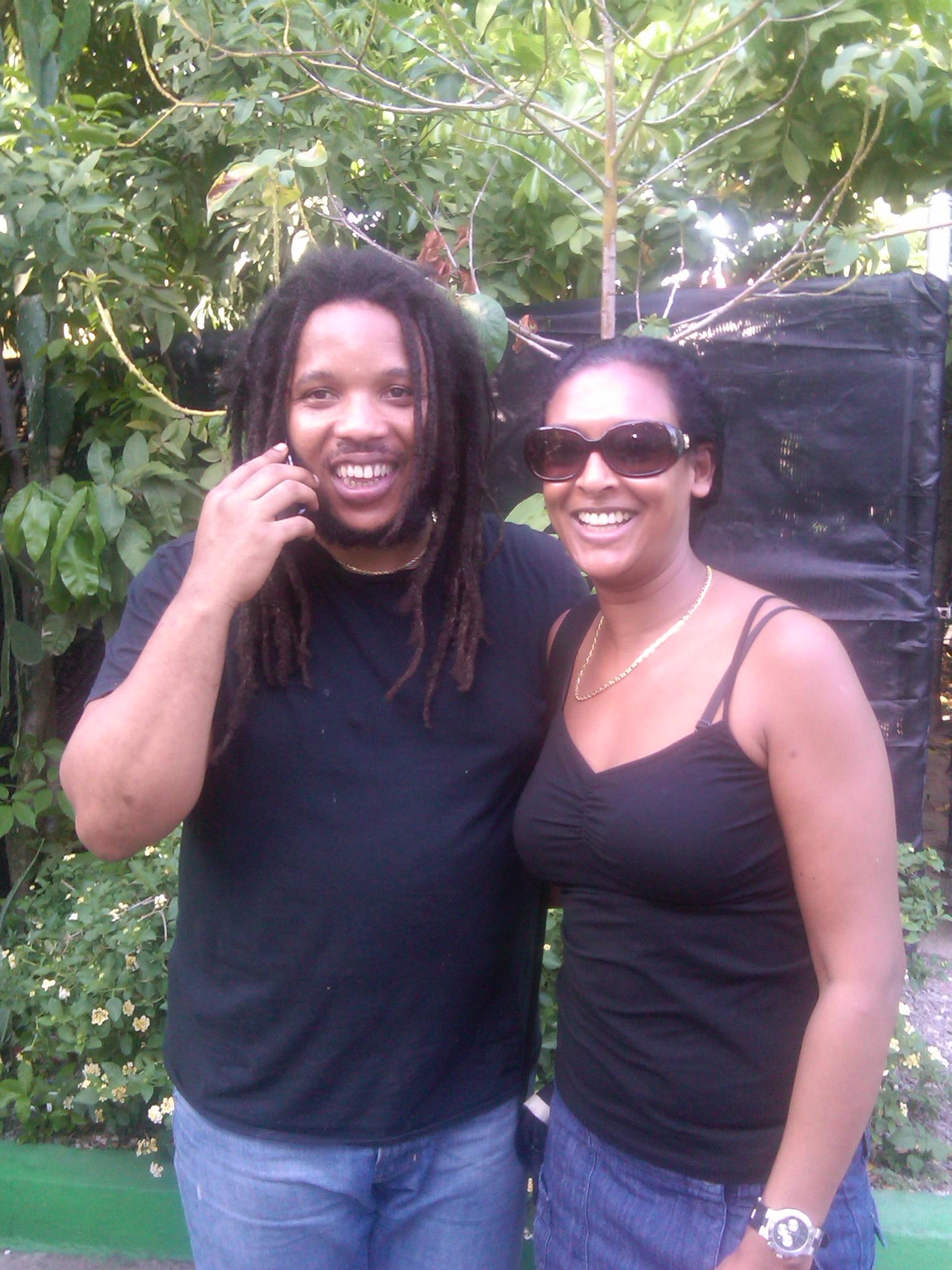 Stephen Marley & me