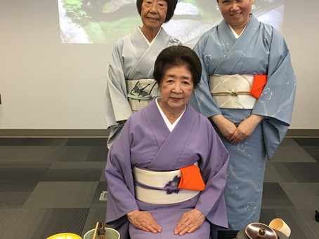 Chanoyu Demonstration, Lynn University