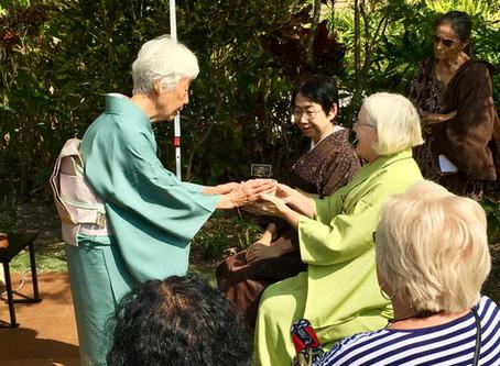 Chanoyu Demonstration Miami Beach Botanical Garden