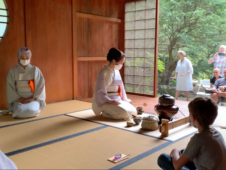 Tea Ceremony Collaboration with John P. Humes Japanese Stroll Garden