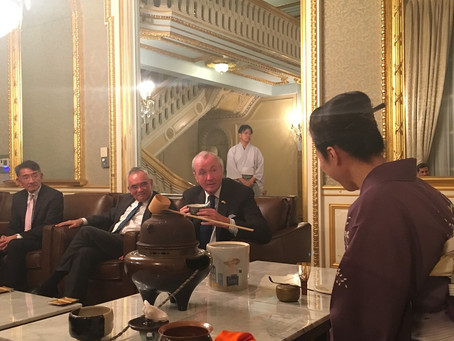 Tea Ceremony at the Japanese Ambassador's Residence in New York