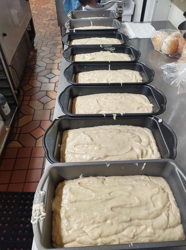 Fresh Bananna Bread French Toast