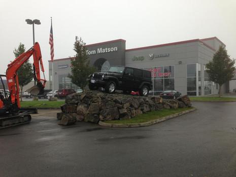 Rocks for a Jeep Dealer.jpg