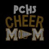 PCHS Cheer Mom Bling Shirt