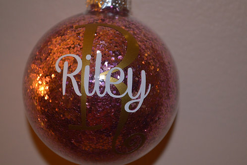 First Name Ornament