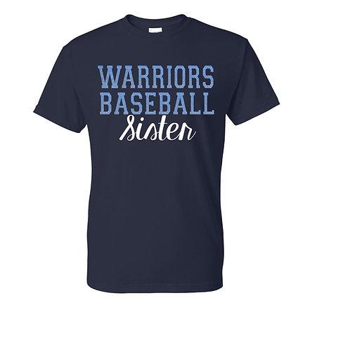 Warriors Sister T-shirt