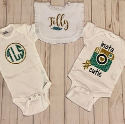 Can't wait to see this baby wearing thes