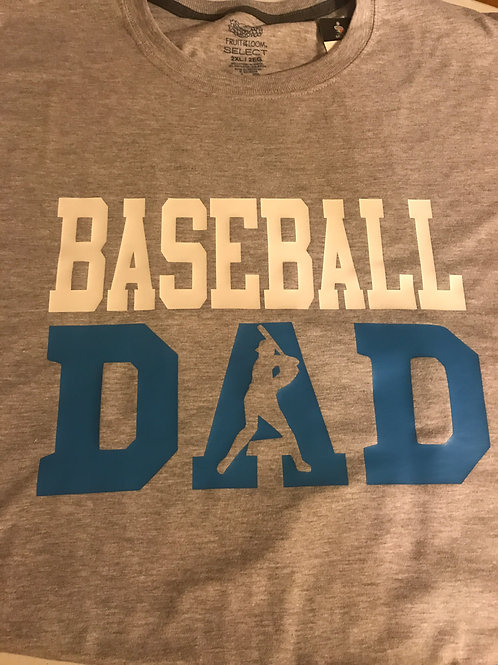 Baseball Dad T-shirt