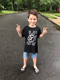 Peace Out First Grade