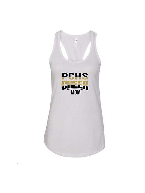 PCHS Cheer Mom Two Tone Tank