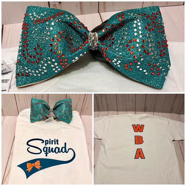 #cheerleading #taillessbows #cheershirt