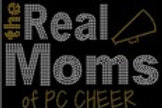 The Real Moms of PC Cheer Bling Shirt