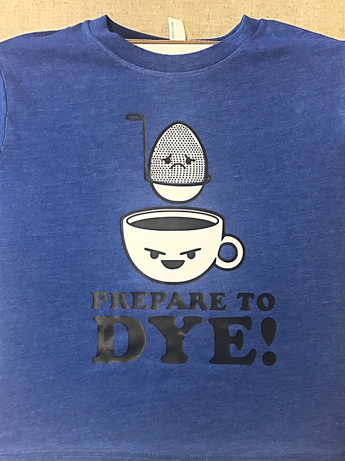 Easter shirt - Prepare to dye