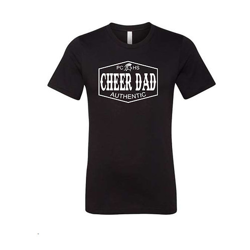 Authentic Cheer Dad Tee