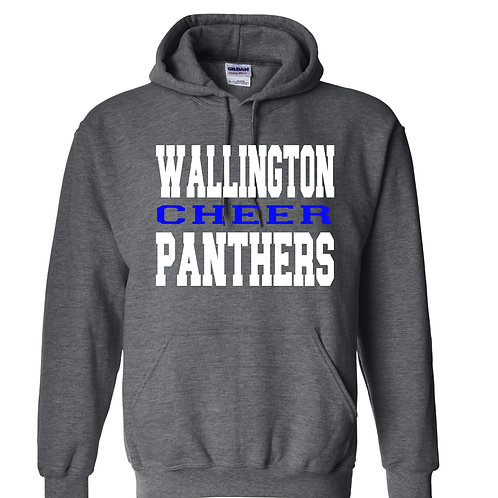 Wallington Panthers Cheer Hooded Sweatshirt