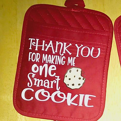 Smart cookie potholder
