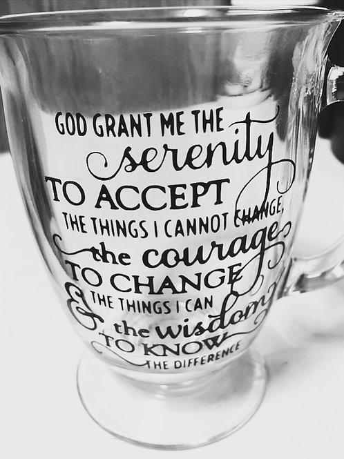 Serenity Glass Mug