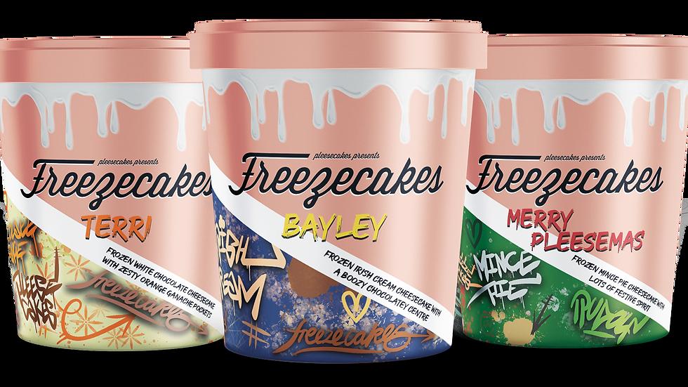 Festive Freezecakes Box