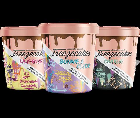 Freezecakes Trio Pack