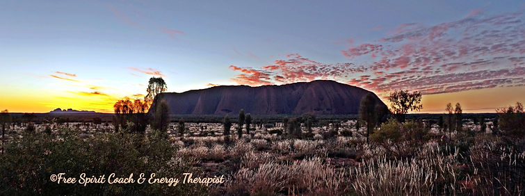 Uluru-Sara Sadeghi Free Spirit Life Coach & Energy and Reiki Therapist