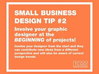 Design tip #2 for small business
