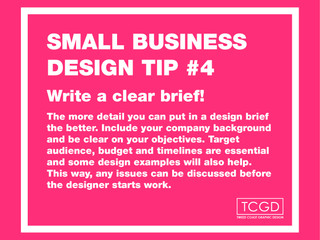 Design tip #4 for small business