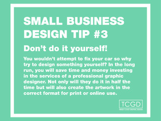 Design tip #3 for business