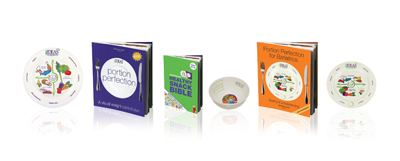 Book, plate & bowl design