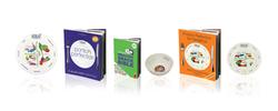 Book, plate & bowl design