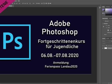 Adobe Photoshop Kurs für Jugendliche - Fortgeschritten -