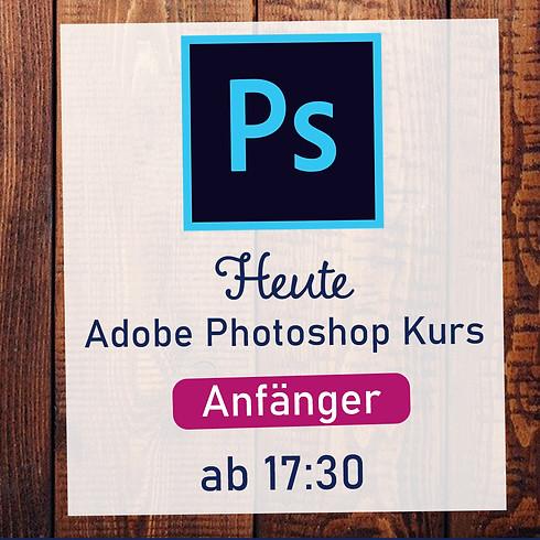 ONLINE Kurs - Adobe Photoshop - Anfänger - 3 Termine