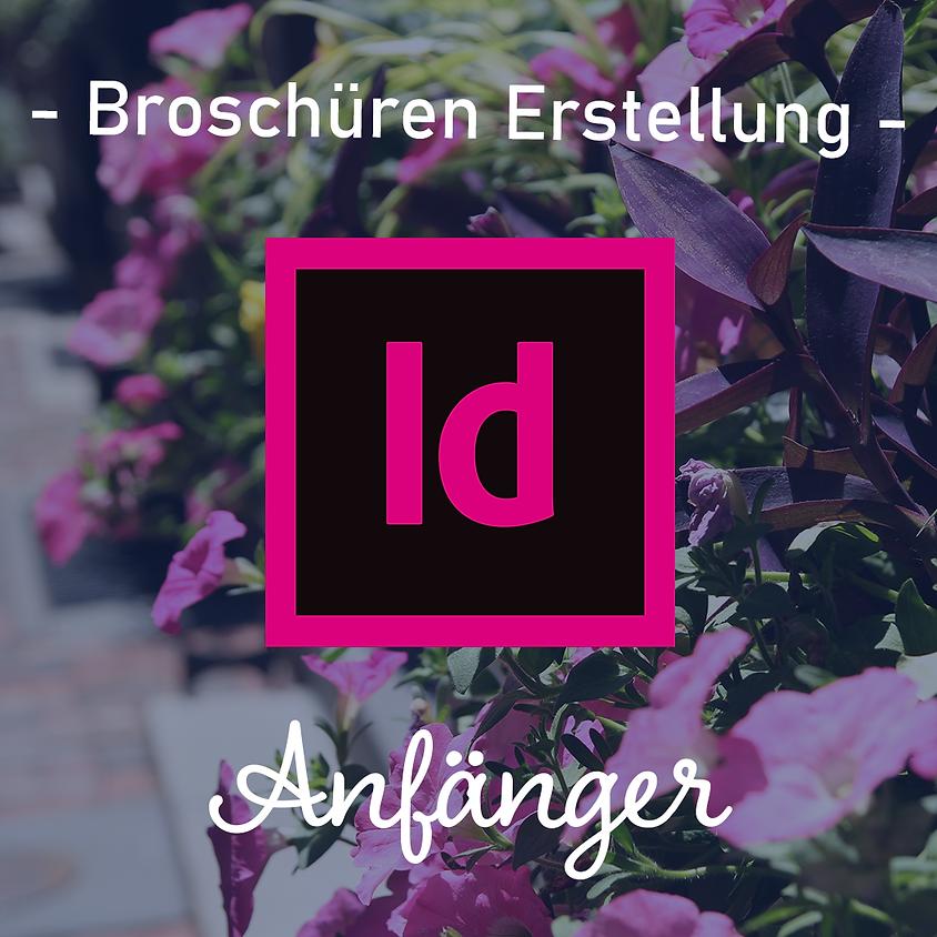 Adobe InDesign   Broschüren Entwicklung   Anfänger