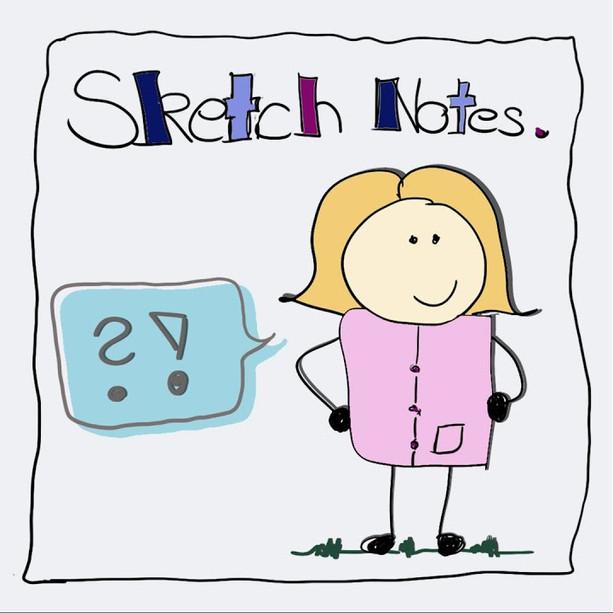 Wie entstehen Sketch Notes?