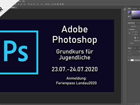 Adobe Photoshop Kurse für Jugendliche - Anfänger