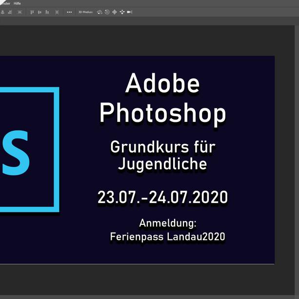 Adobe Photoshop Grundkurs_Jugendliche_VHS