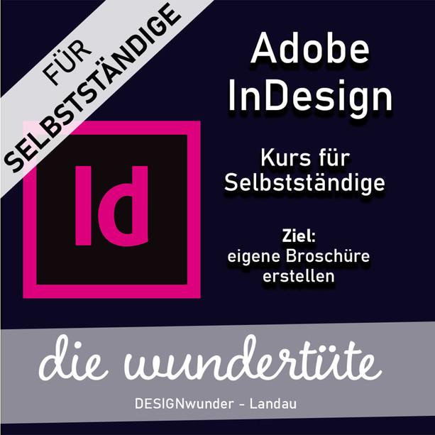 Adobe InDesign Kurse für Selbstständige