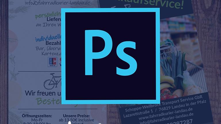Adobe Photoshop | Flyer Gestaltung | Anfänger