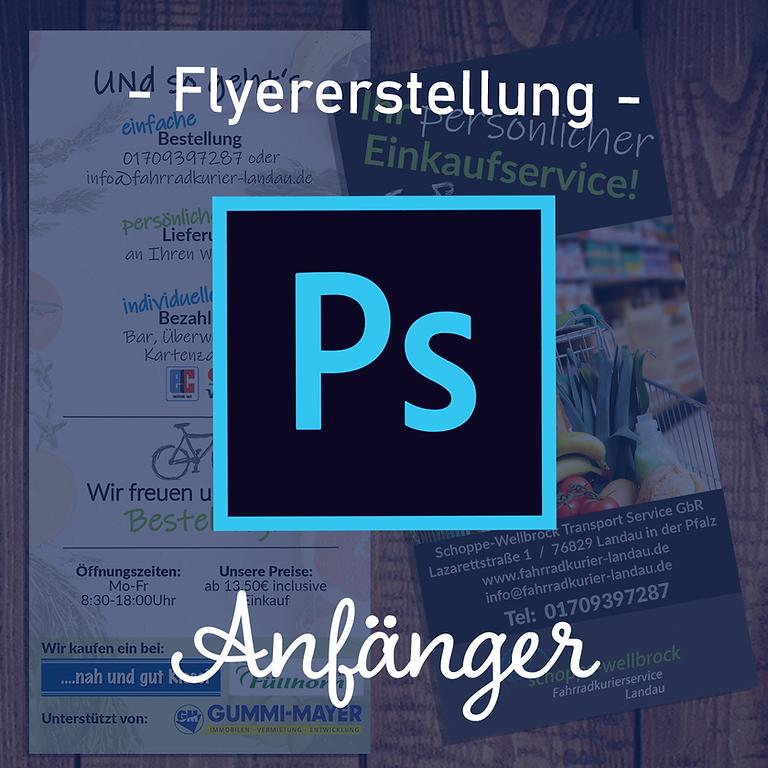 Adobe Photoshop   Flyer Gestaltung   Anfänger