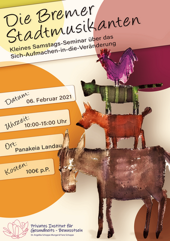 Veranstaltungsflyer 1/2 | Burnout Seminar