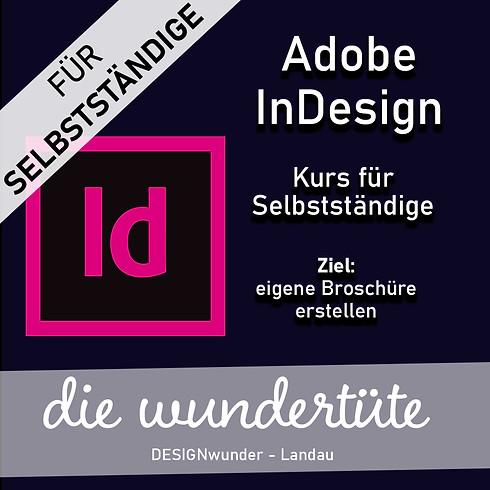 Adobe InDesign | Broschüren Entwicklung | Anfänger