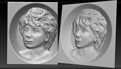 Портрет женщины (Амину)