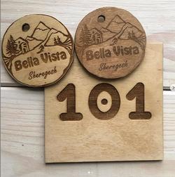 Номерки на ключи и номерки на двери