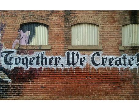 Together we create.