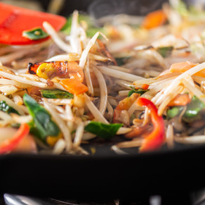Beansprout Stir Fry