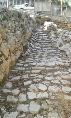 Chevron Biblical era Stairway