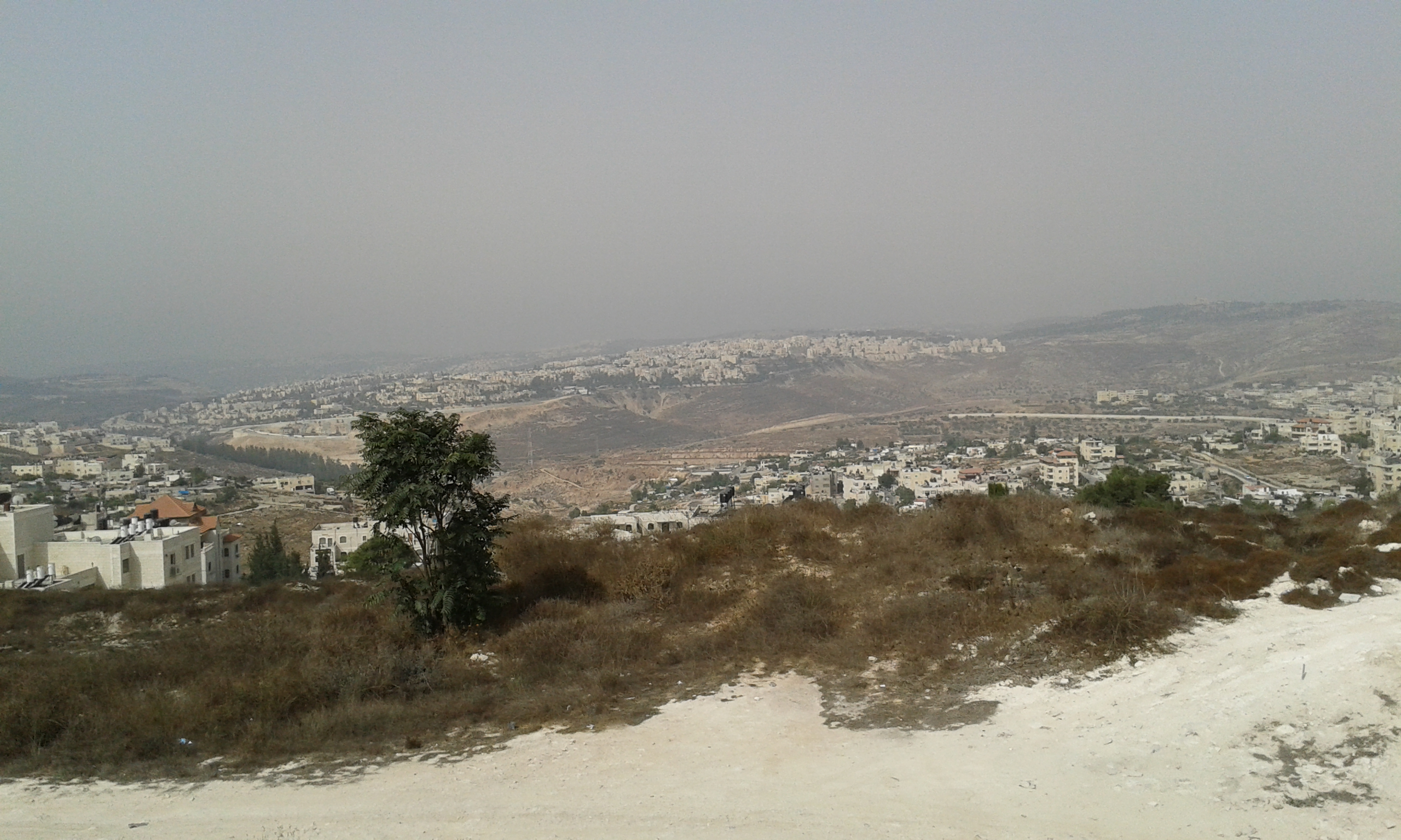 View from The Biblical Givat Shaul